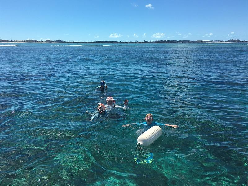 Family Snorkeling