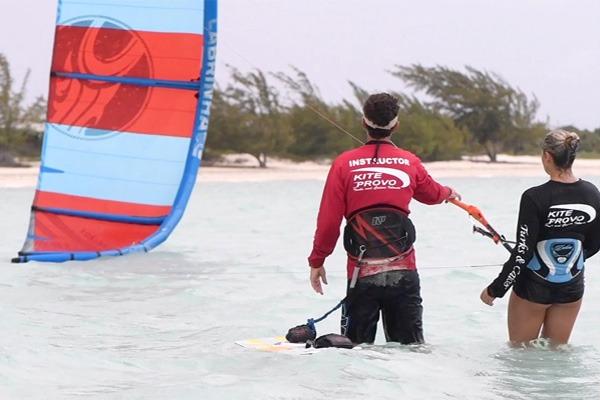 Kiteboarding Instruction Photo