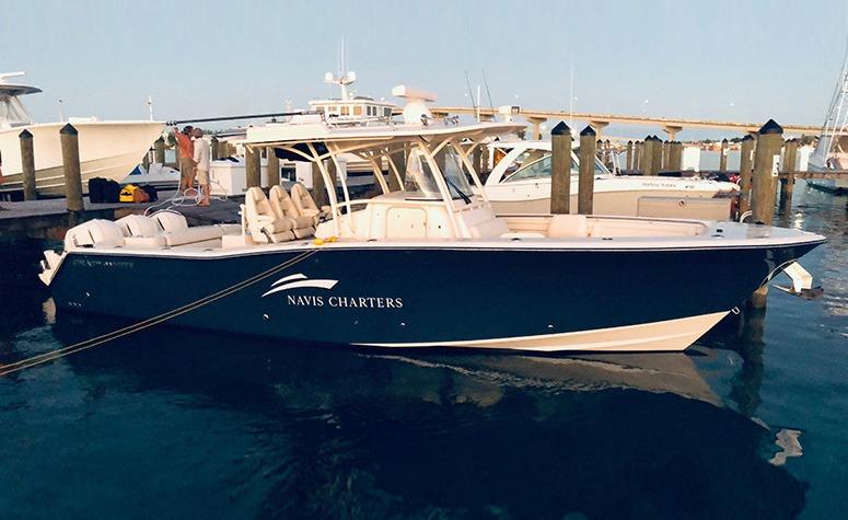 Navis Charters' Vessel at Pier 2