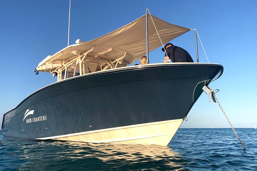 Shade Canopy on Boat