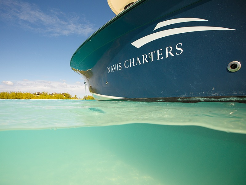 View of Navis Charters Vessel